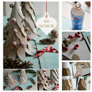 Diy, Paper, Christmas, Tree, Craft, Pictures, Photos, And, Images, For, Facebook, Tumblr, Pinterest, And