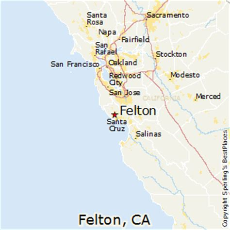 places    felton california