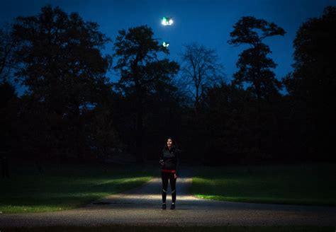 drone lights at night direct line create fleetlights street lights of the future