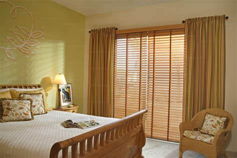 furniture bedroom blinds design ideas a brown wooden