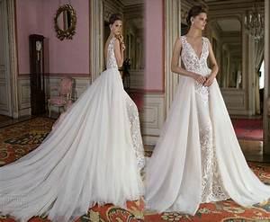 discount overskirt 2016 berta bridal wedding dresses lace With overskirt wedding dress
