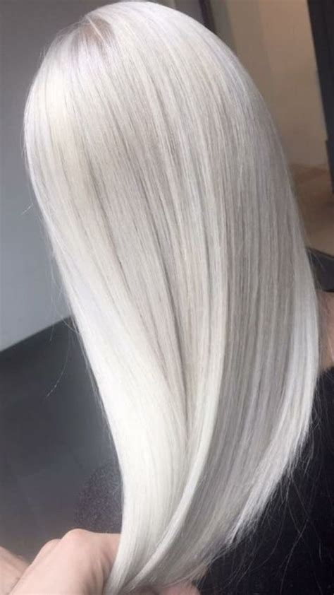 icy white platinum hair color ideas  tips white