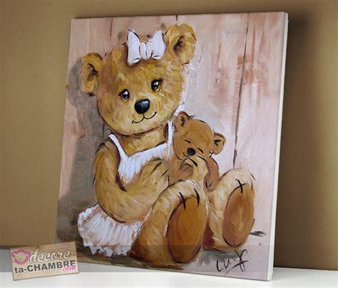 tableau ourson chambre bébé tableau ourson dor vente tableau ourson pour chambre enfants