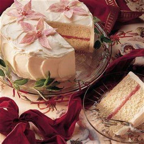 white wedding cake  raspberry filling recipe