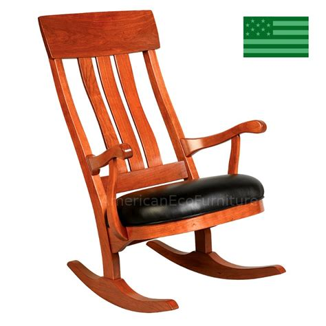 amish felicity rocking chair solid wood made in