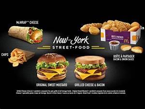 McDonald's France launches New York Street Food menu ...