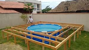 Pallet Outdoor Swimming Pool 101 Pallets