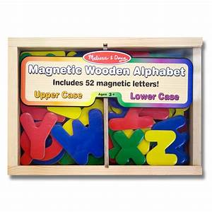 Melissa doug magnetic wooden letters 3yrs from ocado for Melissa doug magnetic letters