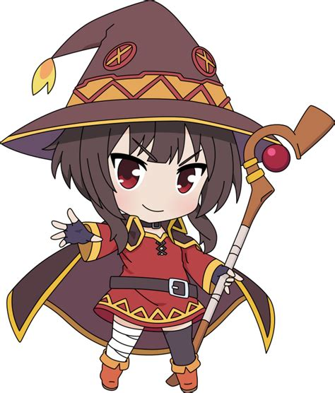 pin by brett forrester on megumin chibi characters