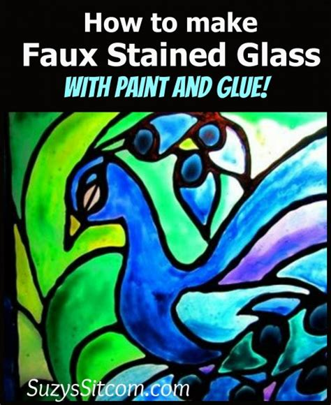how to make a stained glass l beautiful faux stained glass creations