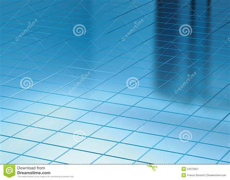 blue floor l catherine mackey th st station light on blue floor