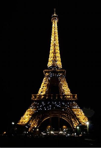 Eiffel Tower Paris Golden Sparkle Torre Gifs