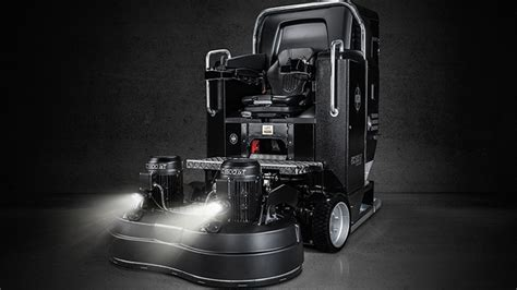 Professional floor grinding machines from HTC
