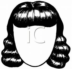 Women's Wig Clipart - Clipart Suggest