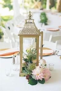 floral lantern wedding centerpieces Deer Pearl Flowers