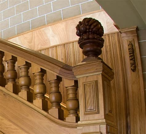 decoracion de escaleras de madera