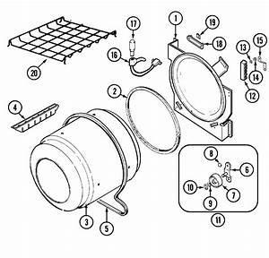 Tumbler Diagram  U0026 Parts List For Model Lnc8766b71 Admiral