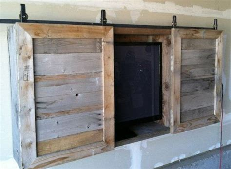 Outdoor Tv Cabinet...the Barn Doors Might Be A Good Idea