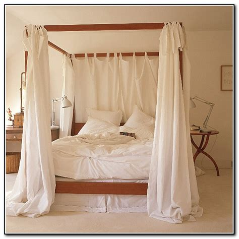 canopy bed with curtains trendy remarkable diy canopy bed