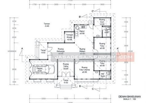 desain jadi nyata rumah minimalis tampak depan melebar