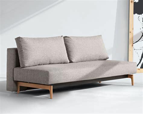 Schlafsofa Design puristisches schlafsofa ausziehbar zum doppelbett hilltown