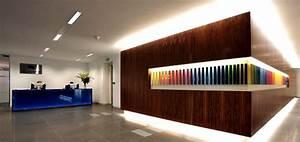 Office Reception Wall Interior Design Delectable Family ...