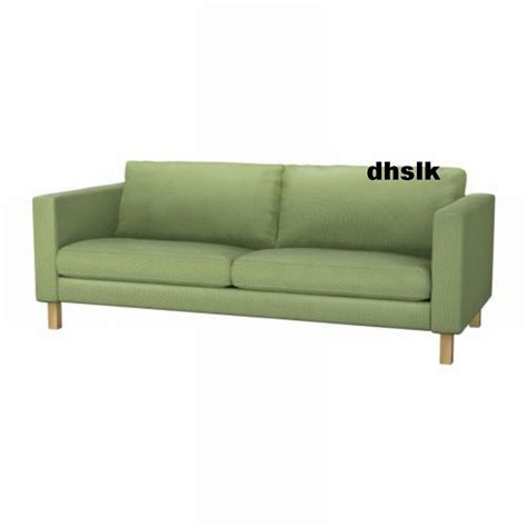 ikea karlstad 3 seater sofa bed cover ikea karlstad 3 seat sofa slipcover cover korndal green