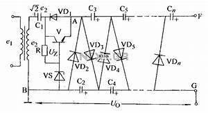 Adjustable Output Voltage Regulator Type Rectifier Circuit