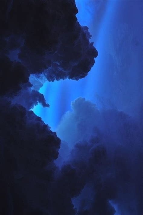 blue blue aesthetic clouds aesthetic colors