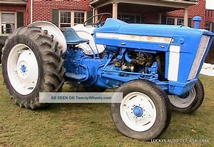Ford 3000 Tractor 2wd Gas 47hp 8 Speed 1969