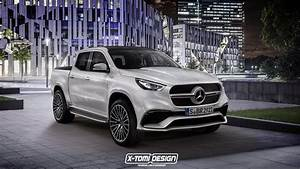 Pick Up Mercedes Amg : new merc x class pickup concept gets rendered in amg form carscoops ~ Melissatoandfro.com Idées de Décoration