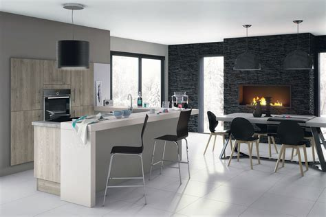 chambre couleur idées pour délimiter la cuisine ouverte sur le salon