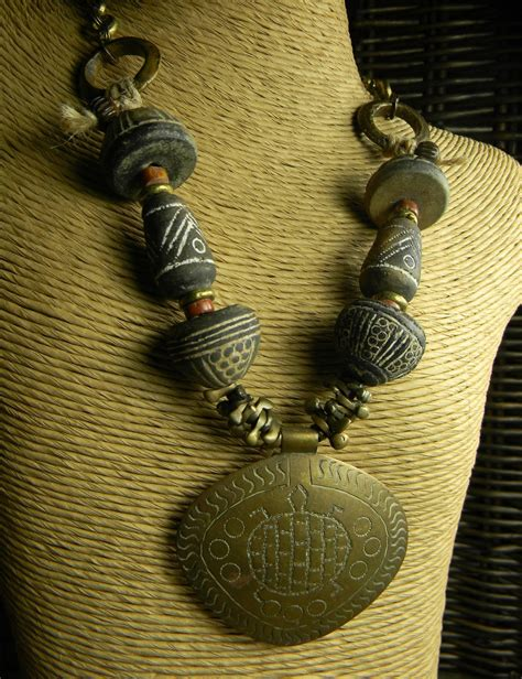 tribal jewelry african adinkra turtle curious chrysalis