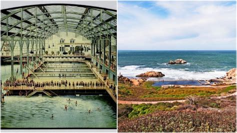 Sutro Baths In San Francisco In 1896, It Was The Biggest