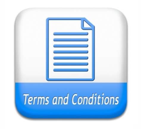 terms  conditions user guide  rules icon button