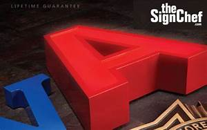 3d sign letters available from thesignchefcom With gemini sign letters wholesale