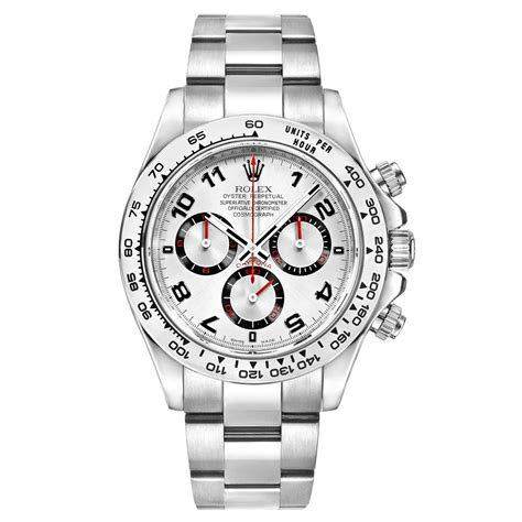 116509 | Pre-Owned Rolex Daytona Cosmograph White Gold