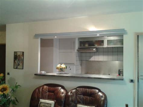 ouvrir la cuisine sur le salon cloison cuisine s 233 jour