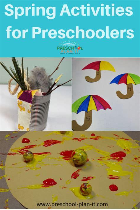 activities theme for preschool 174 | spring activities pin