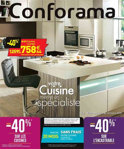 promotions cuisines promo conforama cuisine catalogue 2015 07 24
