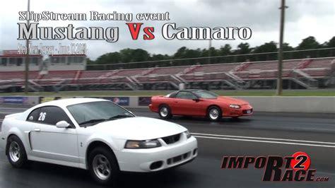 Mustang Vs Camaro Drag Race by Mustang Vs Camaro Drag Race