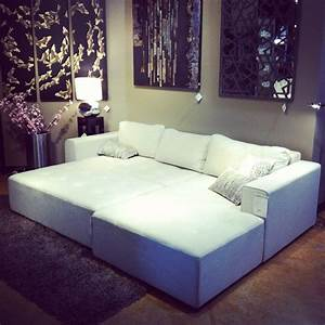 41 best images about living room on pinterest vintage for Sectional sofa that turns into a bed