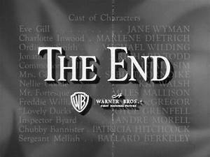 The end titles: Warner Bros. part 2 | The Movie title ...