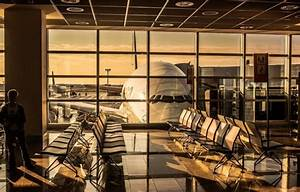 Wallpaper Sunset  Sunrise  Airport  Planes  Airport  A380