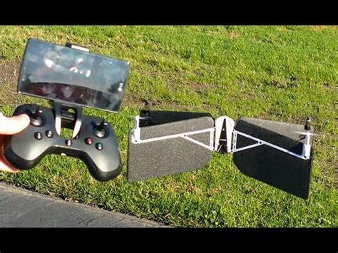 parrot swing drone vtol quadcopterplane flight youtube