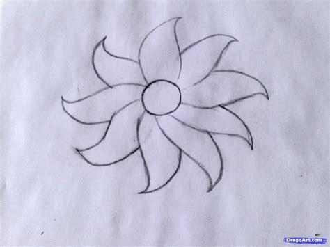 draw  flower easy step  step flowers
