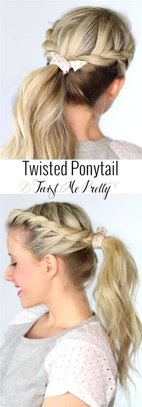 25 best ideas about easy hairstyles for school on