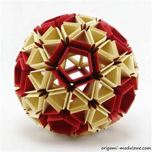 Modular Origami Ball  1 By Origamimodulowe On Deviantart
