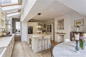 little miss homes my work kitchen in south west london With victorian kitchen extension design ideas