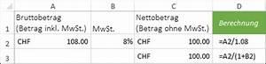 Mehrwertsteuer In Excel Berechnen : prozentrechnen mit excel 2013 ~ Themetempest.com Abrechnung